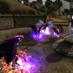 Атака магией в Karos Online