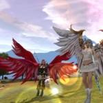Доспехи крылья в Karos Online