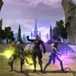 Три разных персонажа в Karos Online