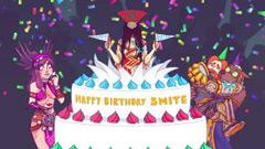 SMITE исполняется три года