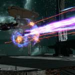 Выстрел лучом в Star Conflict