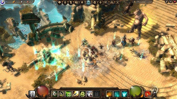 Бой-в-игре-Drakensang-Online