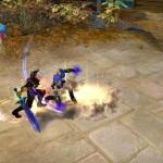 Бой между игроками в Royal Quest