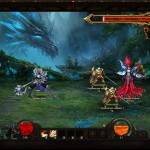 Бой с Огненным всадником в Demon Slayer