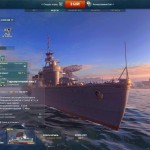 Корабль китаками в World of Warships