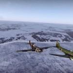 Два самолёта War Thunder