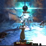 Атака ледяного монстрав в Neverwinter Online