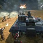 Атака противника на танке в PlanetSide 2