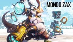 Mondo Zax — новый персонаж в Master X Master