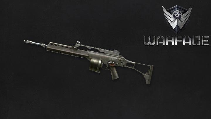 Макрос на H&K MG36 для Warface