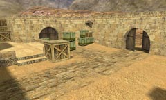 Карта de_dust3 для Counter-Strike 1.6