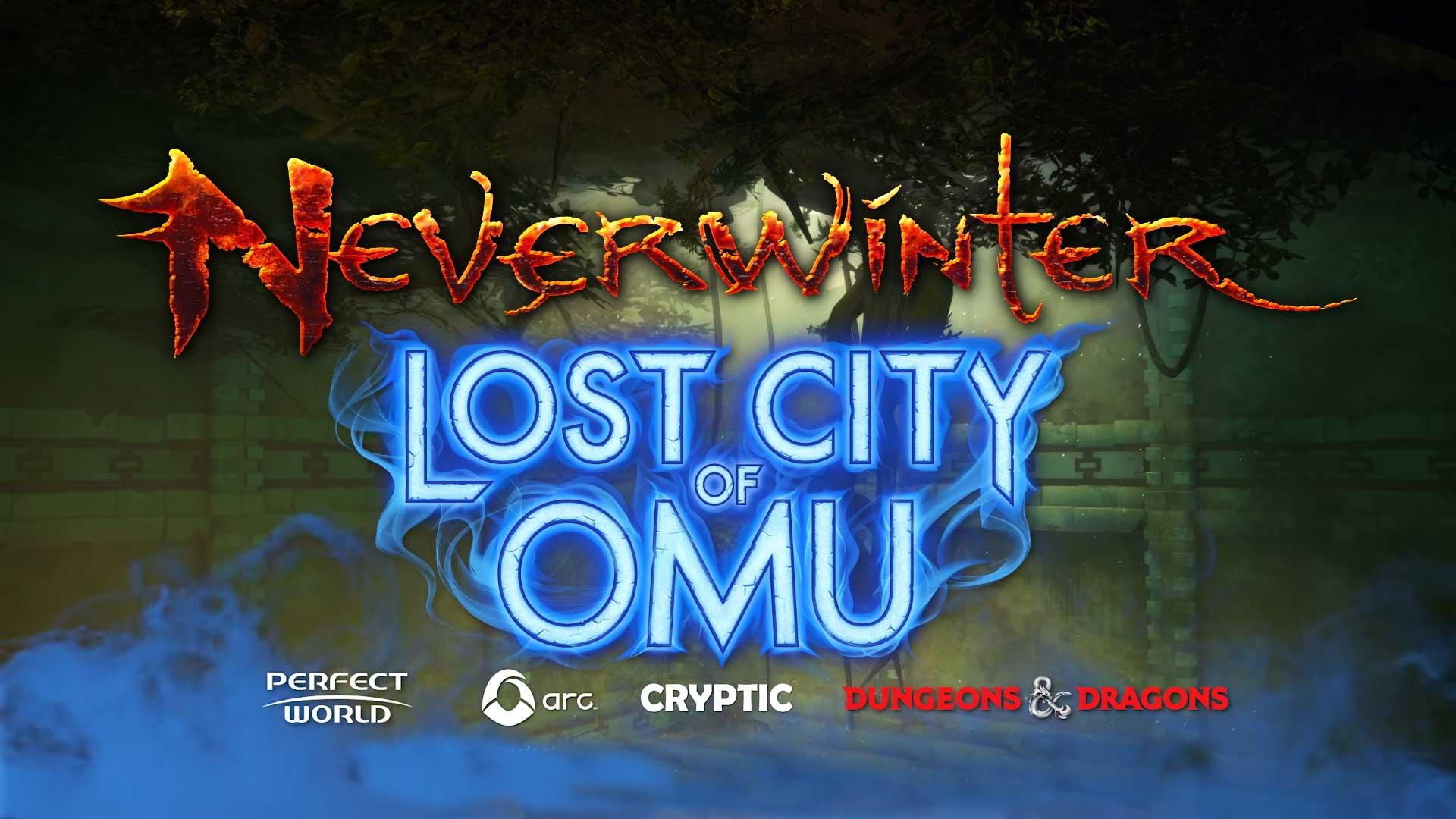 Информация об апдейте Lost City of Omu для Neverwinter