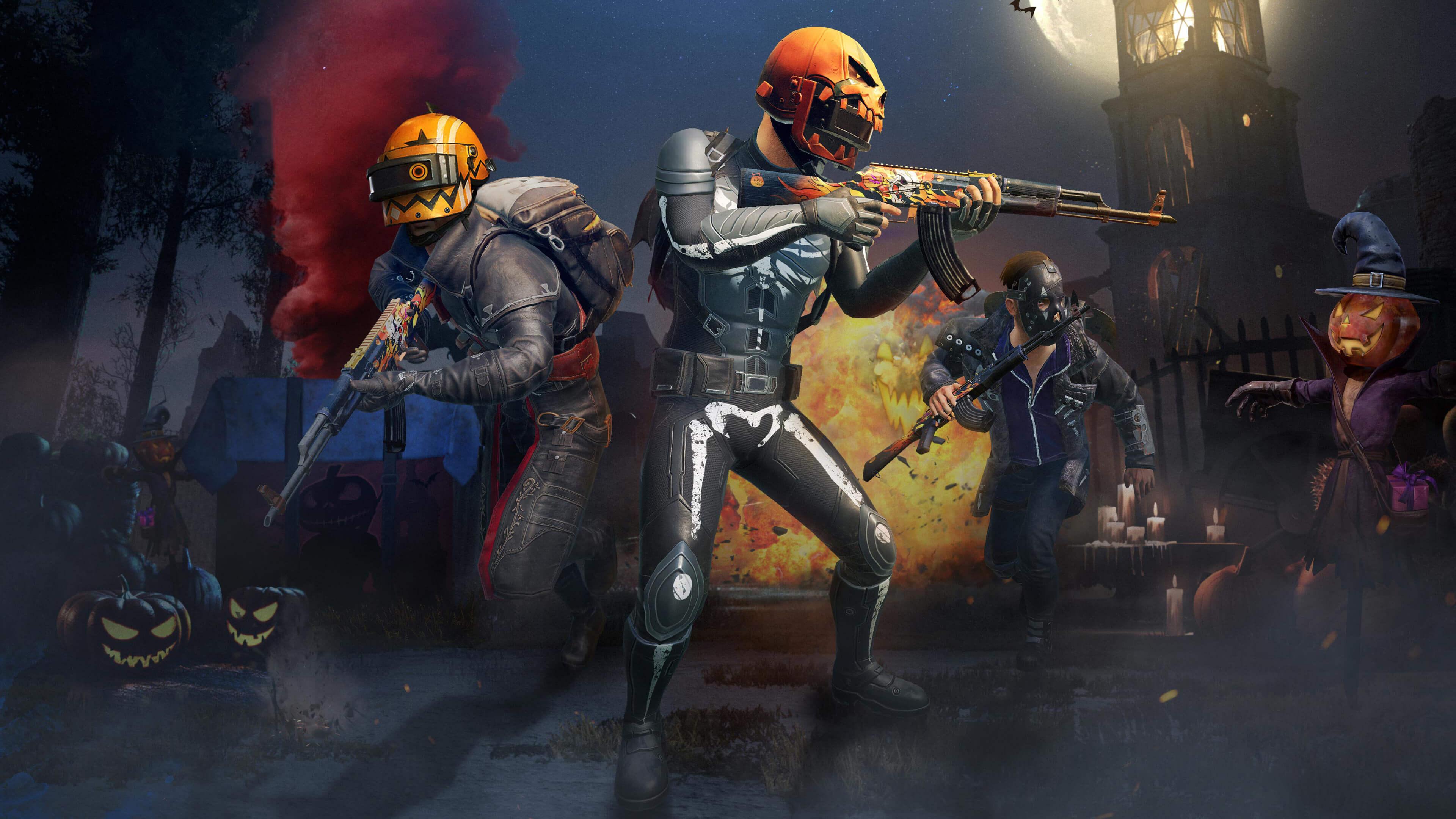 Обои PlayerUnknown's Battlegrounds хэллоуин