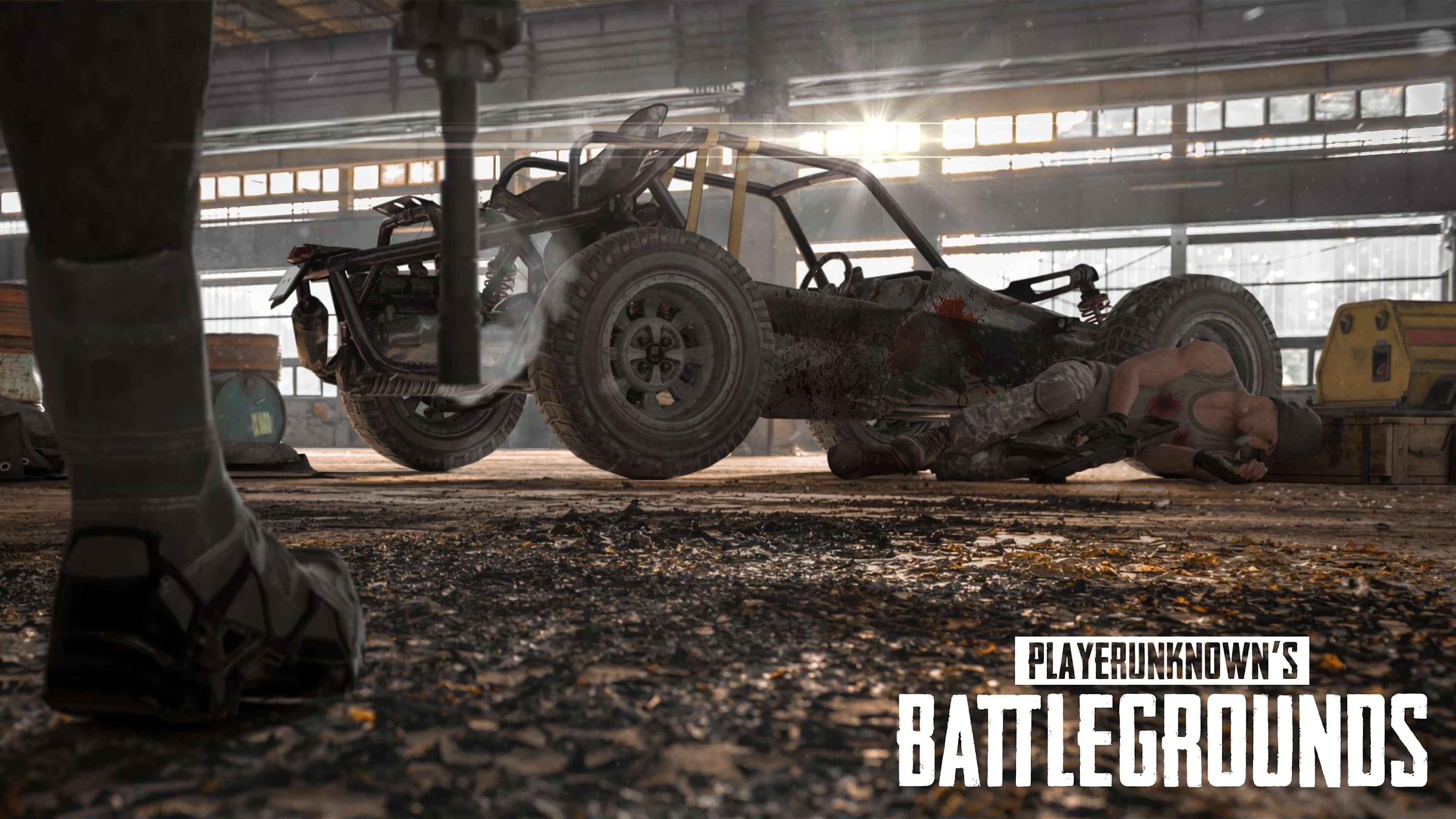 Обои PlayerUnknown's Battlegrounds багги