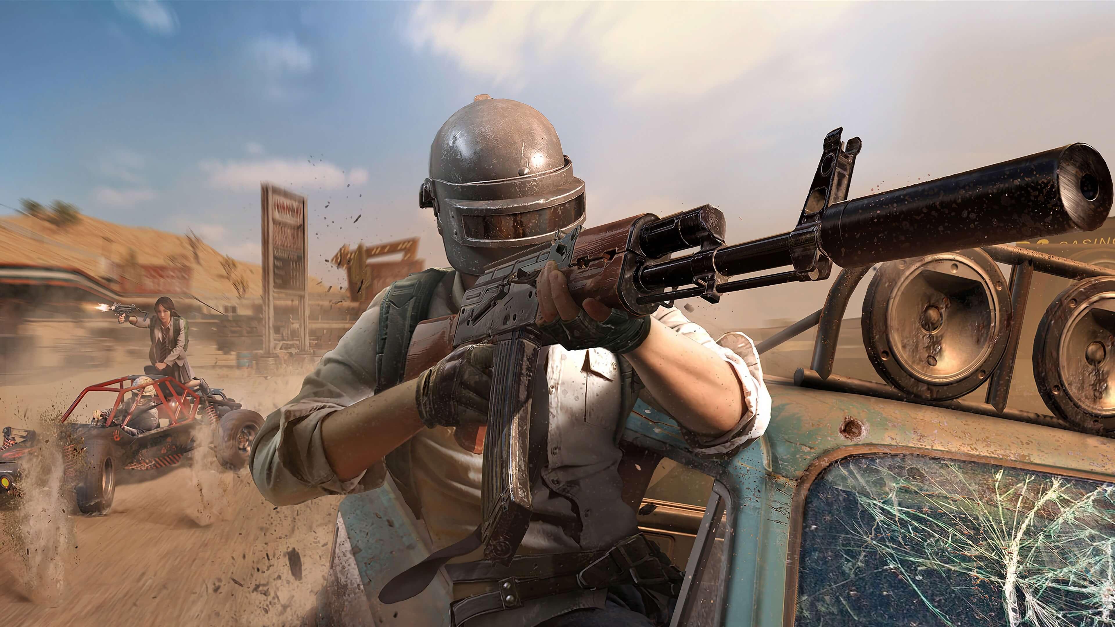 Перестрелка в PlayerUnknown's Battlegrounds обои