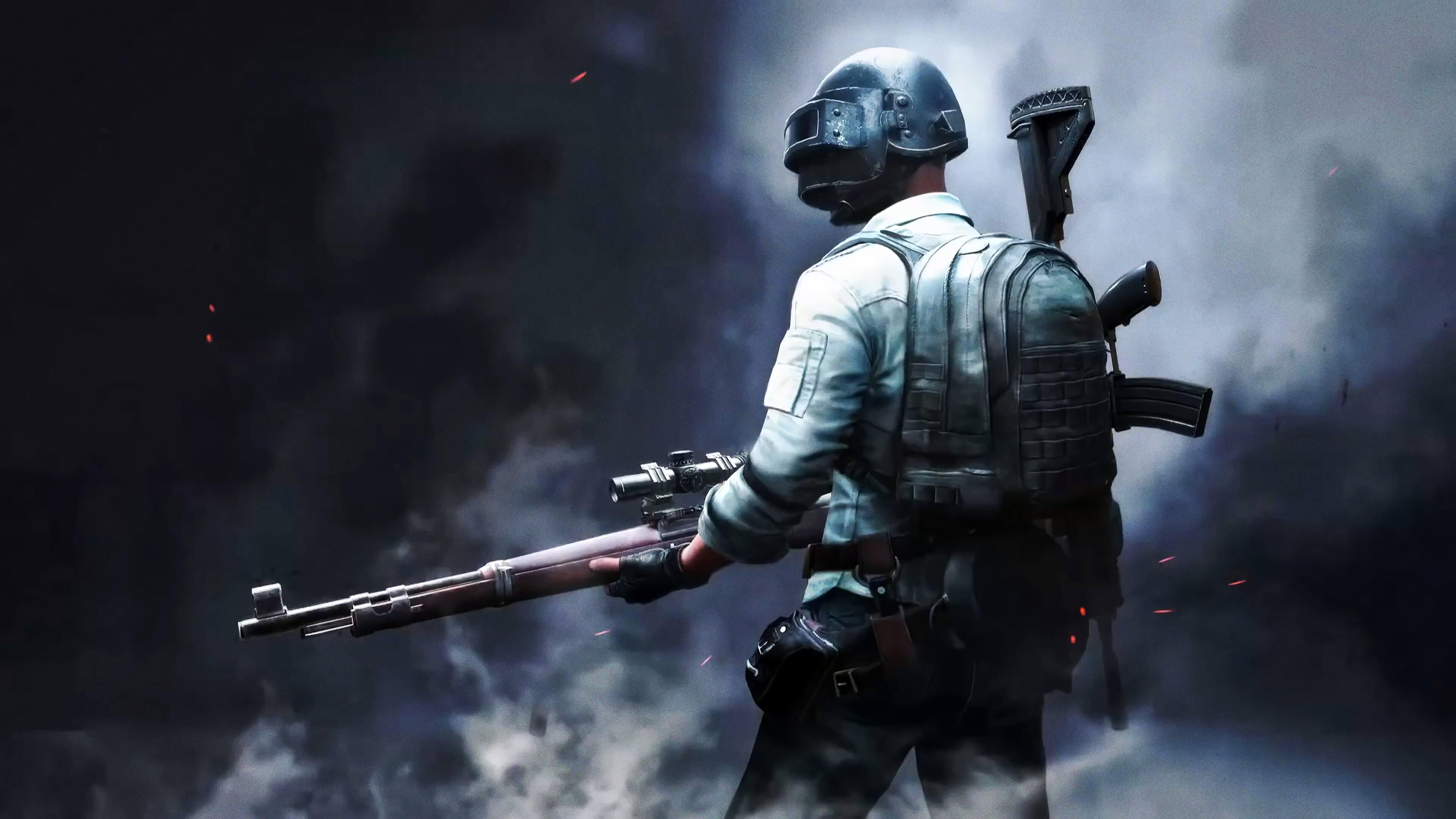 Обои PlayerUnknown's Battlegrounds снайпер
